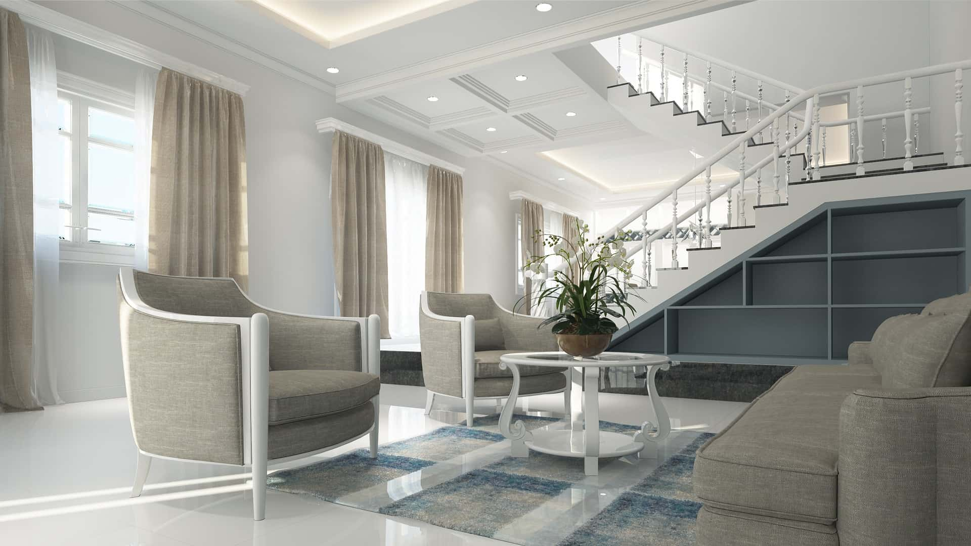 Add A Zing To Your Home Plans With White