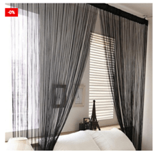 Lightweight String Curtains Home Decoration