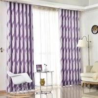 Are You Looking For Best Quality Of Thick Luxury Wavy Striped Curtains?